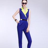 2014 New Fashionable Women Slim Jumpsuit Rompers