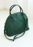 2014 hm blackish green shell bag elegant work bag handbag messenger bag
