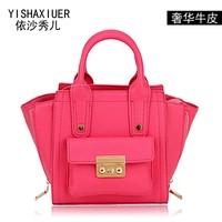 2014 summer mini bags genuine leather all-match hot-selling women's cowhide handbag
