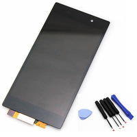 Black LCD display  touch screen with digitizer assembly for Sony Xperia Z1 L39H ,free shipping!!