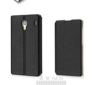 Factory Cheap Case Xiaomi Hongmi Redmi 1S Flip Leather Cover Casing Best Quality for Hongmi Redmi 1S