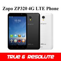 Original 5.0'' ZOPO ZP320 4G LTE Phone MTK6582 Quad Core 1GB+8GB Android 4.4 8.0MP Camera WiFi GPS Bluetooth 4.0 Multi Language