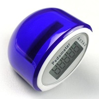 10pcs/lotFree shippment pedometer factory Multi function distance with Calorie solar and battery powered pedometer
