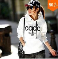 new 2014 moleton women cc coco channell hoodies paris sport suit women hoody sweatershirts pullovers hoodie femininos Casaco