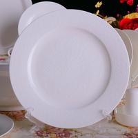 Bone china bowl set 56 relief chauche guzhici dinnerware set ceramic tableware