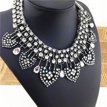 Fashion full glasses new ZA brand necklaces pendants 2014 LUXURY fashion jewelry chunky necklace vintage elegant