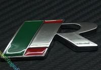 3D Metal R Logo Trunk Emblem For JAGUAR XF XFR XK XKR SUPERCHARGED Badge Sticker