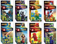 Super Heroes 8pcs/lot Kids Gift Minifigures Blocks Toy Souptoys Super Hero Batman Cyclops