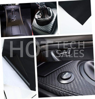 1.27M x 30cm DIY Carbon Fiber Wrap Roll Sticker For Car Auto Vehicle Detailing New Drop Shipping