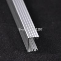 free shipping 10pcs SMD5630 warm cool white red green blue 50cm 36leds led rigid bar strip light U shape profile aluminum slot