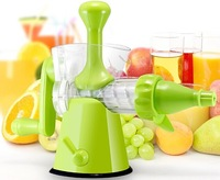 free shipping Hand operation Juicer,manual control,Authentic,,fresh,Sucker juicers,Genuine and Quality assurance