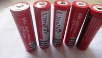 4pcs/lot Original 18650 ICR18650- 3000mAh Li-ion 3.7 Vrechargeable Battery  +Free Shipping