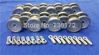 Henglong 3818 3818-1 3819 3819-1 1/16 RC tank upgrade parts metal wheels set free shipping