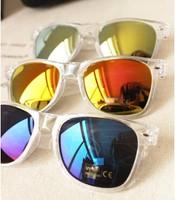 Birdthree wholesale transparent freme colorful lens fashion sunglasses women eyeglasses oculos de sol masculino