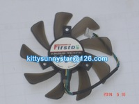 FirstD FD9015U12S 12V 0.55A 4Wire For Sapphire 7750 7770 Video Card, Cooling Fan