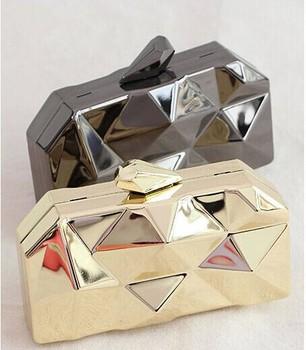 2014 бренды удар день клатч золото клатч дизайнер улыбка мода вечерние сумка золотые ...