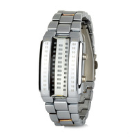 Fashion LED Digital Stainless Steel Wrist Watch