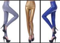 Fashion Fleece Waist Slim Stretch Winter Leather Pants Women, Warm Trousers,Winter Pencil Pants For Women,