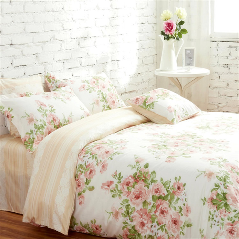... Nordic Ikea Bedding Qjbm Small Fresh Cotton Reactive Printed Cotton  Denim Six Sets ...