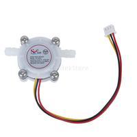 New 2014 Brand New Water Flow Sensor Switch Meter Flowmeter Coffee Dispenser Counter Fluid Control 0.3-6L/min