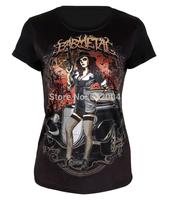New Arrival Women Black t shirt ,Lady crop top,Short Sleeve Black T-shirts,Girl 3D Printed Tee ,Drop Ship,Free Shipping