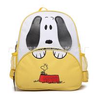 2014 New Animal Cartoon Dog Canvas Children School Bags Kids Backpack Students Schoolbag Children Students Bags B002