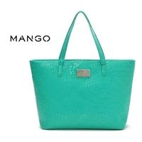 2014 fashion women leather handbags mango bag high quality shoulder bags women messenger bags famous brand free shipping 40