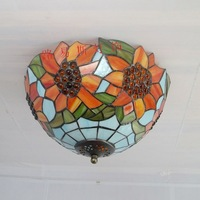 American modern sunflower ceiling glass exterior lighting balcony bedroom children kitchen garden decoration lamp