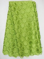 FREE shipping by DHL,guipure,cord lace,Water soluble fabric, 100% cotton,J248-6,lemon