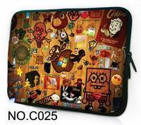 "Cute Cartoon 10"" 10.1"" Laptop Sleeve Bag Case Cover For ASUS Eee Pad Transformer TF101 /Samsung Galaxy Tab / iPad 4/3/2/1"