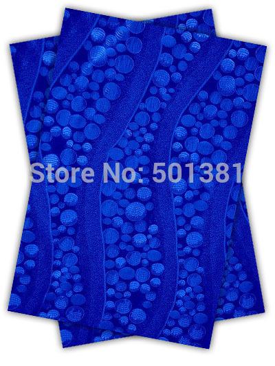 1set/lot, sego african headtie gele& ipele 2in 1, d/n 193 königsblau(China (Mainland))