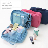Promotions! Free shipping 2014  High quality waterproof outdoor hanging wash bag travel storage bag Cosmetic Makeup Was 4 colors