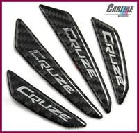40pcs MIX 100% real carbon fiber anti-bumping car door crashworthy bar Bumper sticker door protector  for cruze with 3M glue