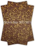 1set/lot, African Sego Headtie Gele & Ipele 2in1, D/N 189 Coffee brown