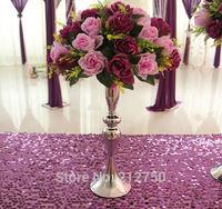 Wholesale wedding decoration 10pcs/lot mermaid wedding road led centerpieces for tables wedding candle holder 30CM