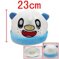 wholesale 10 pcs/lot Pocket Monster pokemon Oshawott plushs hat Noctali Nachtara plush caps free shipping