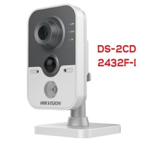 HIKVISION DS-2CD2432F-I 3MP IR Cube Network Camera, english version V5.1.6, IP Camera DS-2CD2432F-I