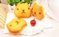 2014 new arrival rare jumbo anime japan tokyo original kapibarasan squishy charms pan breads buns by tag slow rise freeshipping