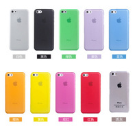 Slim Scrub for Iphone5C/5S Cell Phone Protection Shell Transparent Mobile Shell