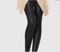 Women's  Fashion Stretchy Snake Print Shining  Ankle Length Legging Free Shipping A410-1-6209