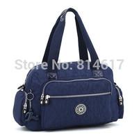 2014 Hot sale brand ultra-light water wash cloth women's fashion messenger bag cross body handbag nappy bag online free shipping
