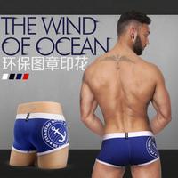 Free Shipping 4pcs mens underwear boxer shorts sexy cotton panties XXL plus-size Brand Short Pant for Men pinkhero HR013
