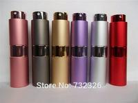 Hot Sale 15ML Mini Spray Bottle Glass Perfume Bottle Portable Travel Perfume Atomizer Free Shipping