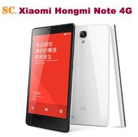 """Original Xiaomi Redmi Note WCDMA Red Rice Note Hongmi Smart Phone MTK6592 Octa Core 5.5"""" 1280x720 2GB RAM 8GB ROM 13MP Dual Sim"""