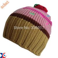 Cute child's winter knit hat