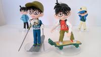 Free shipping cartoon action figure Conan Edogawa model Edogawa Konan detective anime figures 5 pcs a lot conan models