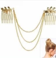 2014 Fashion Jewelry Flower Hair Accessories Tassel Chain Headbands For Women nice gift for women