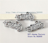 SL211  100pcs 8mm rhinestone Motorcycleslide Charms DIY Accessories Fit Pet Collars wristbands