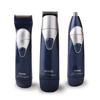 Free shipping electric hair clipper RFCD-3100 red and black color for buyer 6 hours rechargeable