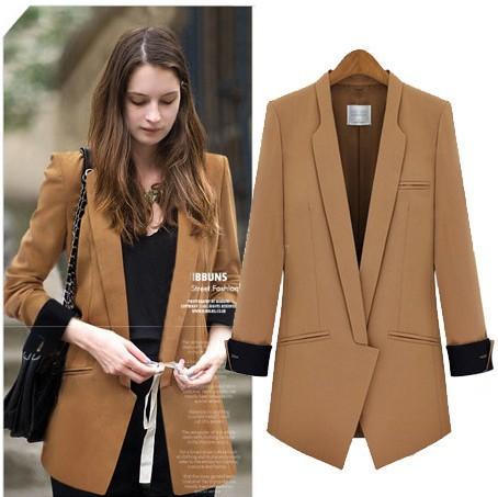 Ladies Brown Coats